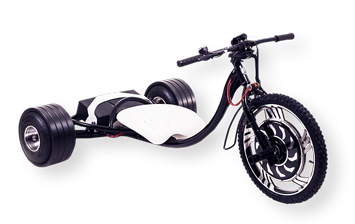 WOLFTRIKE Electric drift trike - black