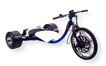 WOLFTRIKE Electric drift trike - blue