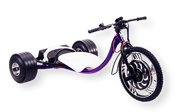WOLFTRIKE Electric drift trike - purple