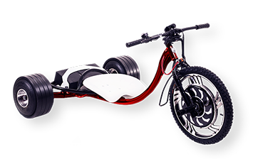 WOLFTRIKE Electric drift trike - red
